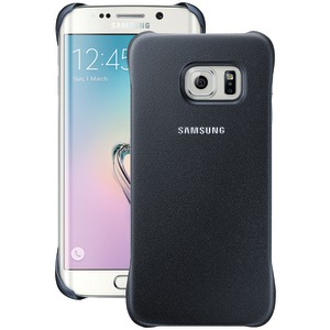 SAMSUNG Protective Cover for Samsung(R) Galaxy S(R) 6 edge (Black Sapphire) 34-2891-05-XP