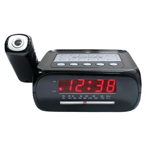 Digital Projection Alarm Clock with AM-FM Radio