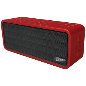Rechargeable Portable Bluetooth(R) Speaker (Red)