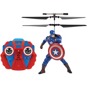 WORLD TECH TOYS 2-Channel Marvel(R) IR Helicopter (Captain America(R)) 34871