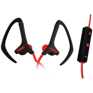 NEURALE Sport Earphones with Microphone (Red)