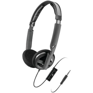Collapsible High-Performance Open-Aire(TM) Headphones with Microphone & Smart Remote