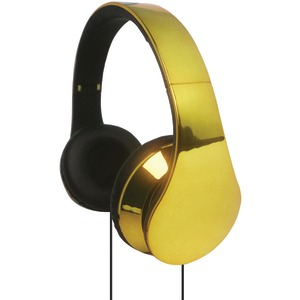 IQ-215 High-Performance Stereo Headphones (Gold)