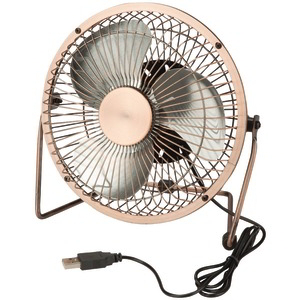 HONEY-CAN-DO USB-Powered Desk Fan (Bronze) OFC-04475