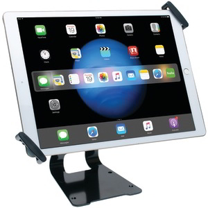 iPad Pro(TM)-Tablet Adjustable Antitheft Security Grip Stand (Silver)