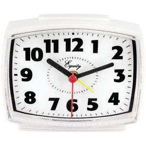 EQUITY BY LA CROSSE Electric Analog Alarm Clock 33100
