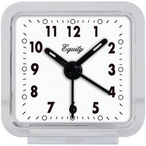 EQUITY BY LA CROSSE Clear Quartz Alarm Clock 21038