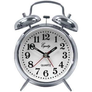 EQUITY BY LA CROSSE Analog Quartz Alarm Clock 13014