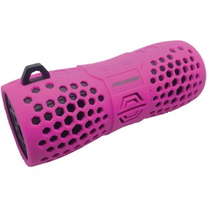 SYLVANIA Water-Resistant Portable Bluetooth(R) Speaker (Pink) SP332 -PINK