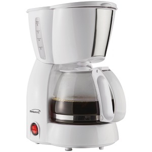 BRENTWOOD 4-Cup Coffee Maker (White) TS-213W