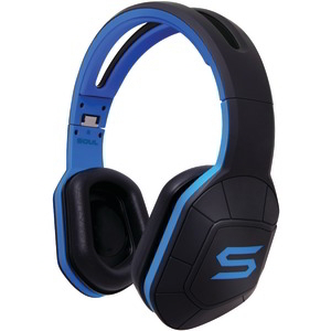 SOUL COMBAT+ Active Performance Over-Ear Headphones (Electric Blue) COMBATEB