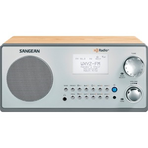 SANGEAN AM-FM HD Tabletop Radio HDR-18
