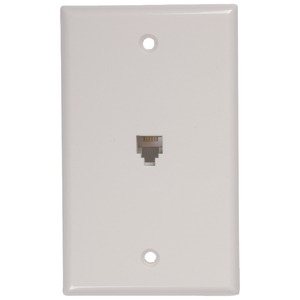 RCA Phone Jack Wall Plate TP247WHR