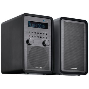SANGEAN AM-FM Bluetooth(R) Tabletop Stereo System WR-50P