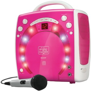 THE SINGING MACHINE Portable Karaoke Systems (Pink) SML283P