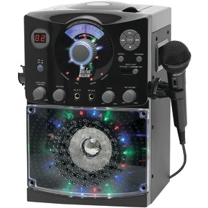 THE SINGING MACHINE Sound & Light Show Karaoke System (Black) SML385