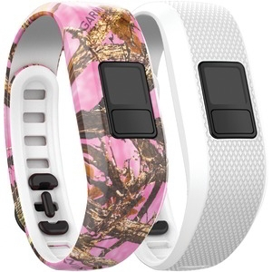 GARMIN vivofit(R) 3 Accessory Bands (Pink Camo-White) 010-12452-32