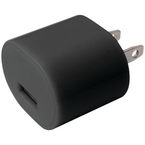1A USB WALL CHARGER BLACK