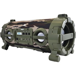 PYLE Portable Bluetooth(R) Boom Box Speaker (Camo) PBMSPG120CM