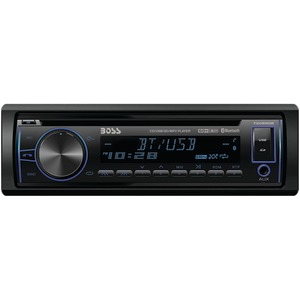 BOSS Single-DIN In-Dash CD AM-FM-MP3 Receiver with Bluetooth(R) 750BRGB