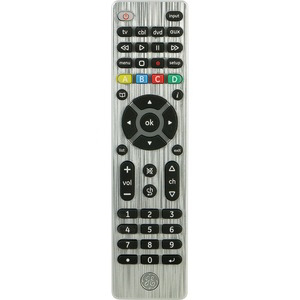 GENERAL ELECTRIC 4-Device Universal Remote Control 33709
