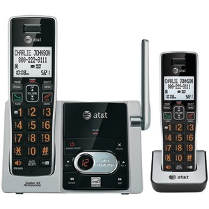 AT&T Cordless Answering System with Caller ID-Call Waiting (4-handset system) ATTCL82413