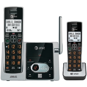 AT&T Cordless Answering System with Caller ID-Call Waiting (2-handset system) ATTCL82213