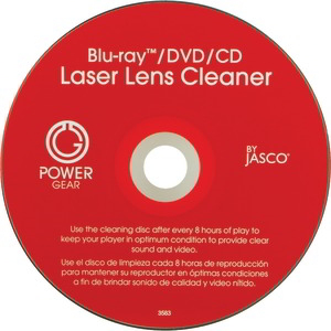 POWER GEAR Laser Lens Cleaner for CD, DVD & Blu-ray(TM) 33628