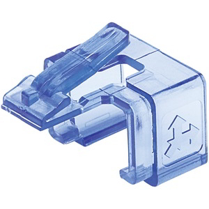 INTELLINET Repair Clip for RJ45 Modular Plug, 50 pk (Transparent Blue) 771443