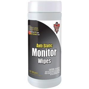 DUST OFF Monitor Wipes, 80 ct DSCT