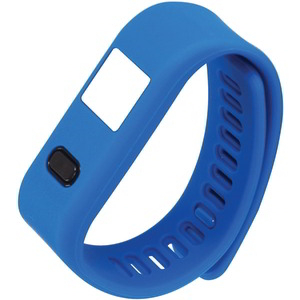 DUPLICATE LifeForce+ Fitness Watch for iPhone(R) & Android(TM) (Blue) NSW-13 BLUE