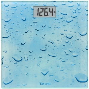 TAYLOR Digital Glass Water Drop Scale 755841034WD