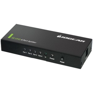 IOGEAR 4-Port 4K Ultra HD Splitter GHSP8424