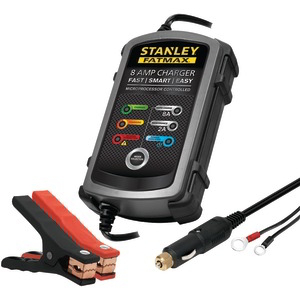 STANLEY 8-Amp FatMax(R) Battery Charge & Maintainer BC8S