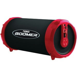 DUPLICATE BOOMER Portable Bluetooth(R) Speaker (Red) NAS-3071 RED