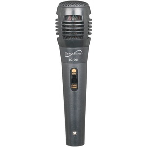 SUPERSONIC ProVoice Professional Microphone (Gray) SC-901 GRAY