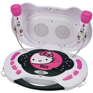 HELLO KITTY Karaoke System & CD Player KT2003MBY