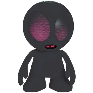 SUPERSONIC Bluetooth(R) Alien Portable Speaker (Black) SC-1453BT BLACK