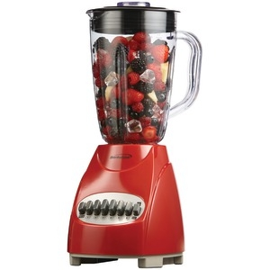 BRENTWOOD 12-Speed Blender with Plastic Jar (Red) JB-920R
