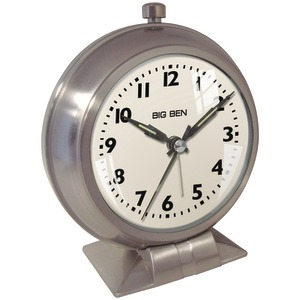 WESTCLOX Analog Metal Big Ben Alarm Clock 47602