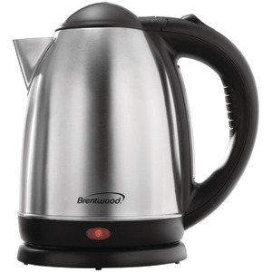 BRENTWOOD 1.7-Liter Stainless Steel Electric Cordless Tea Kettle KT-1790