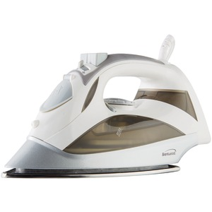 BRENTWOOD Steam Iron with Auto Shutoff (White) MPI-90W