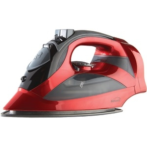 BRENTWOOD Red Steam Iron with Retractable Cord MPI-59R