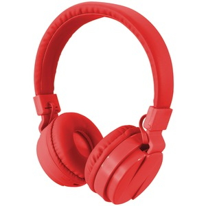ILIVE Bluetooth(R) Wireless Headphones with Microphone (Red) IAHB6R