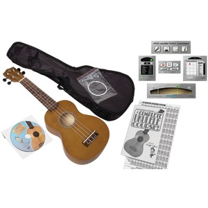 EMEDIA MUSIC Ukulele Beginner Pack for Adults EU08154