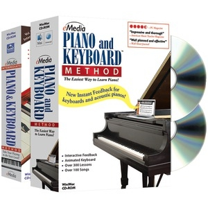 EMEDIA MUSIC Piano & Keyboard Method Deluxe 2-Volume Bundle EK02131