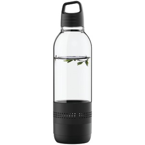 SYLVANIA Water Bottle with Integrated Bluetooth(R) Speaker (Black) SP650-BLACK