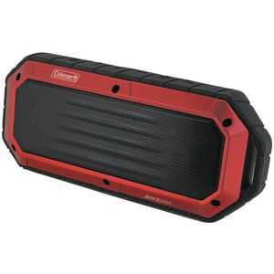 COLEMAN AktivSounds Waterproof Bluetooth(R) Slim-Line Speaker (Red) CBT16-R