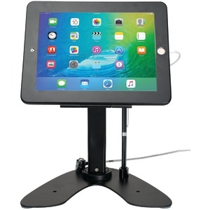 CTA DIGITAL iPad(R)/iPad Air(R) Dual Security Kiosk Stand with Locking Case & Cable PAD-ASKB