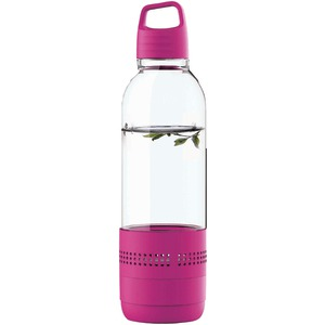 SYLVANIA Water Bottle with Integrated Bluetooth(R) Speaker (Purple) SP650-PURPLE